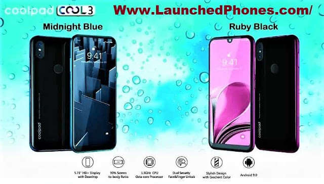 in addition to Indigo colors are revealed for this cellular telephone in addition to all the colors await proficient CoolPad Cool iii budget cellular telephone launched
