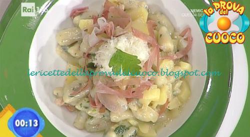 Gnocchi di cicoria con casea e speck ricetta Improta da Prova del Cuoco