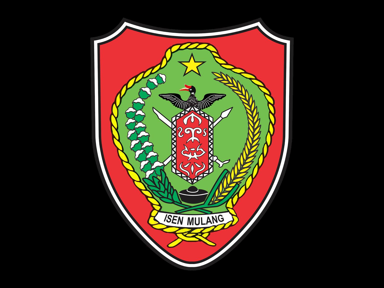 logo provinsi kalimantan tengah cdr format gudril logo