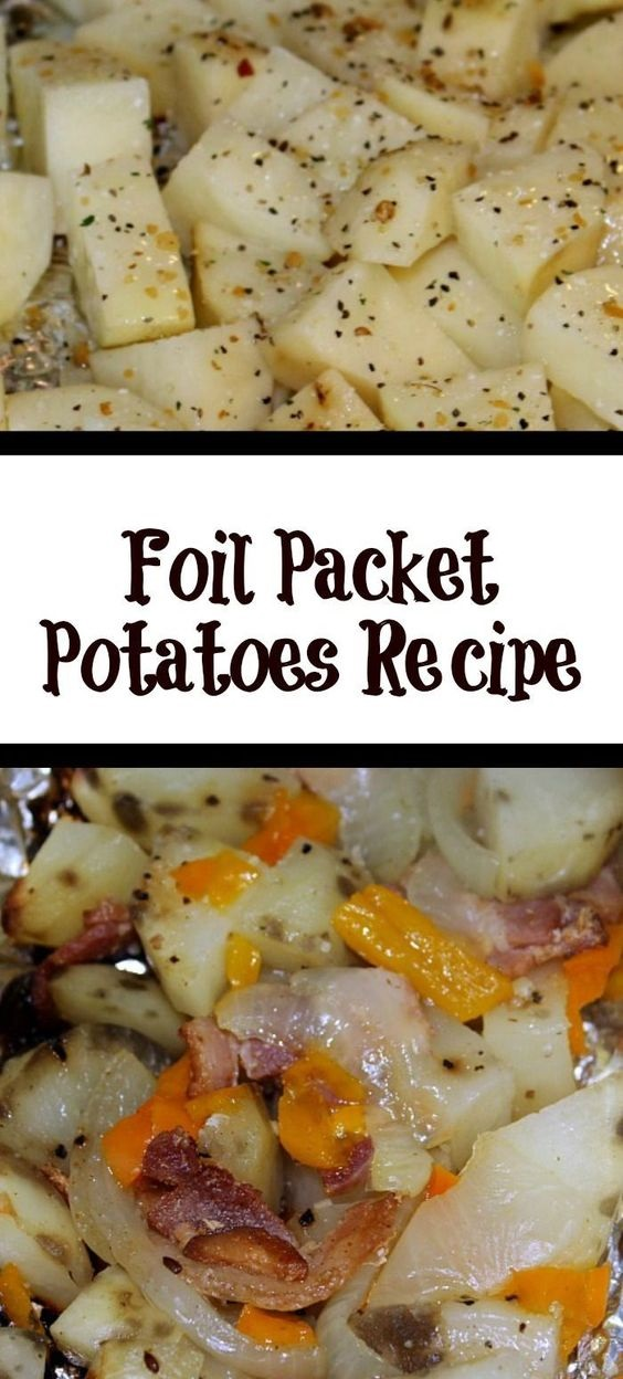 Foil Packet Potatoes