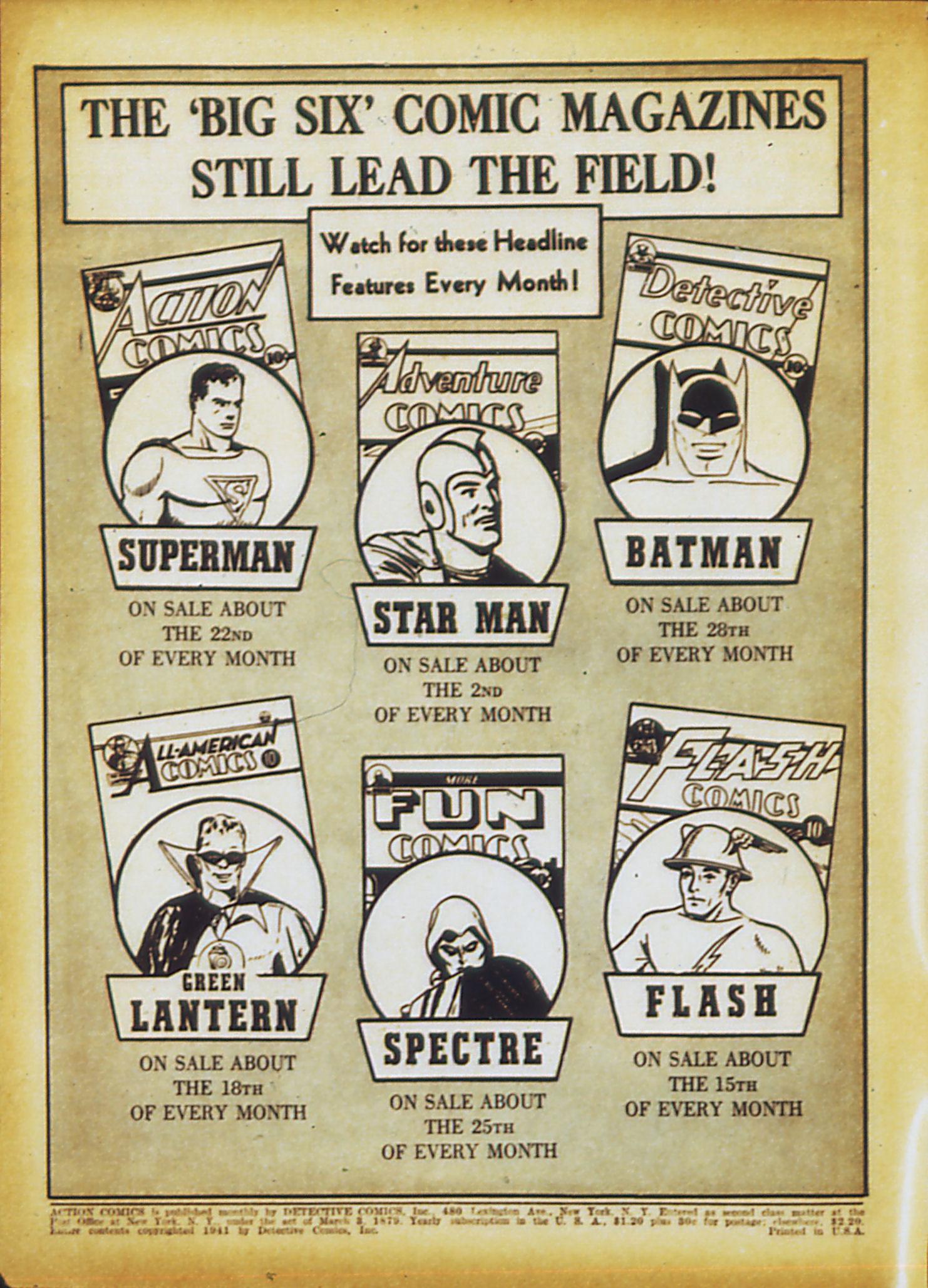 Action Comics (1938) 35 Page 2