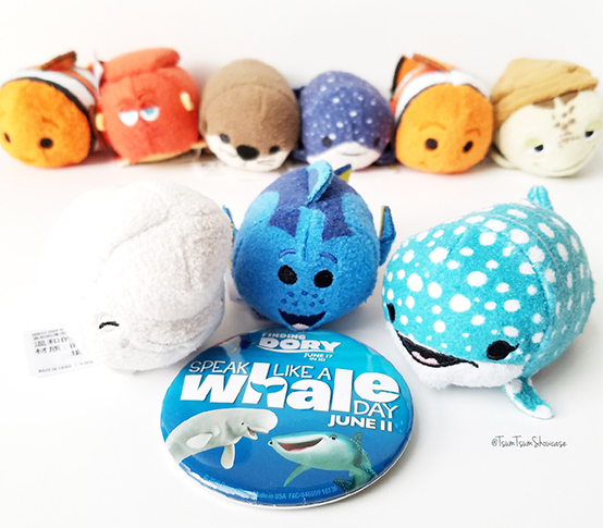 Finding Dory Tsum Tsum  and Speak Like a Whale Day