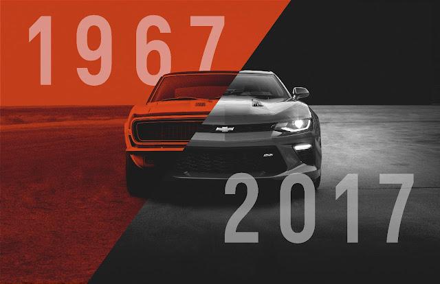 The Camaro Turns 50!
