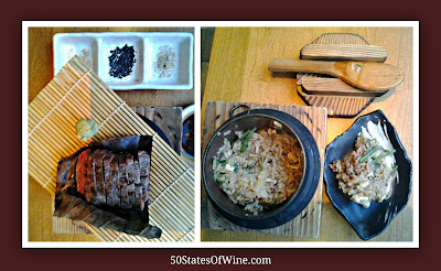 Roka Akor Wagyu Beef and Mushroom Hot Pot