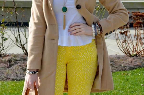 Cute Polka Dot Jean Outfit