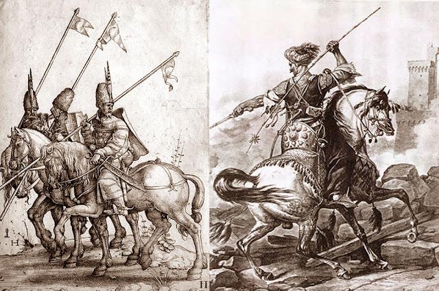 Tentara Mamluk sedang perang