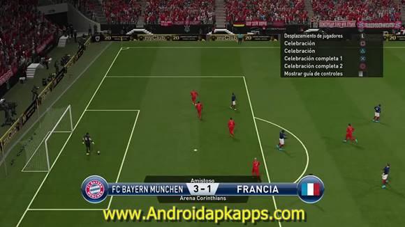 First Touch Soccer FTS Mod PES 2016 Apk + Data