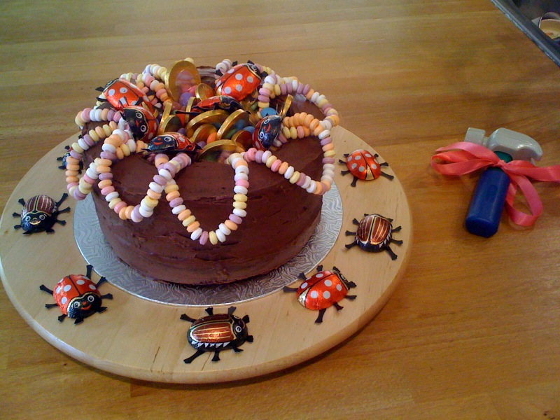 Cook With The Kids Birthday Cake