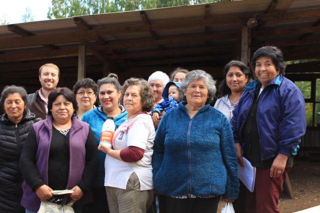 Se conforma legalmente la Cooperativa de Mujeres Huilliches de Forrahue