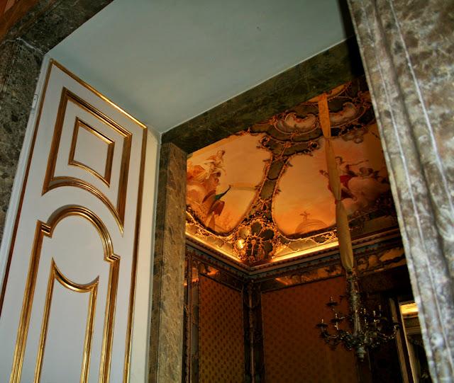 affreschi, porte, volta, disegni, pitture