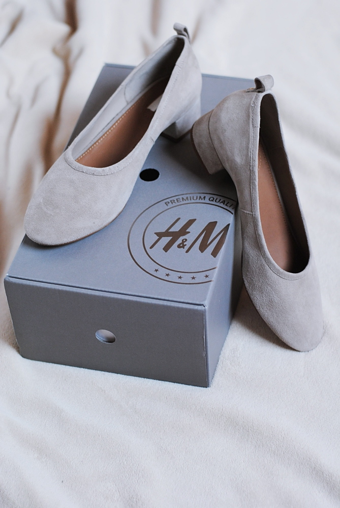 H&M Glove Granny Shoes Heels