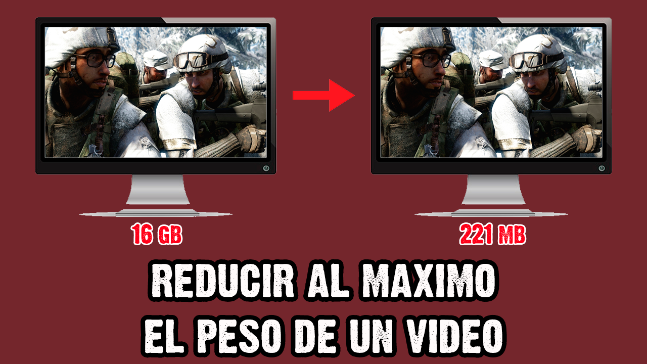 excelente programa para reducir el peso de un video