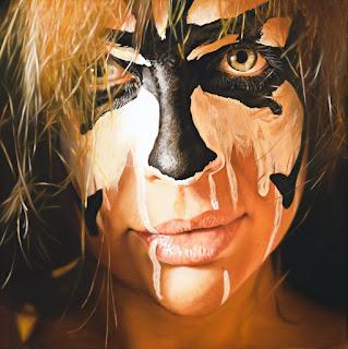 sobresaliente-hiperrealismo-rostros-chicas rostros-chicas-pinturas