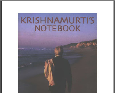 Jiddu Krishnamurti Notebook Download eBook in PDF