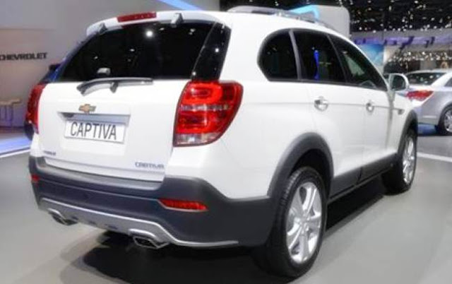2017 Chevy Captiva Redesign