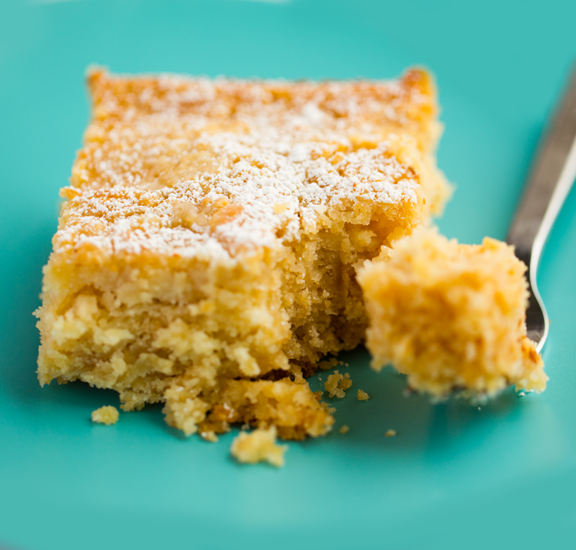 Vegan Missouri Gooey Butter Cake