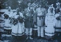 Scena z wesela, Polesie 1937