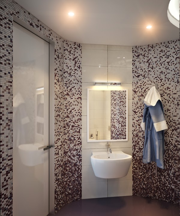 Piastrelle mosaico per rivestimenti bagno - Piastrelle finto mosaico per bagno ...