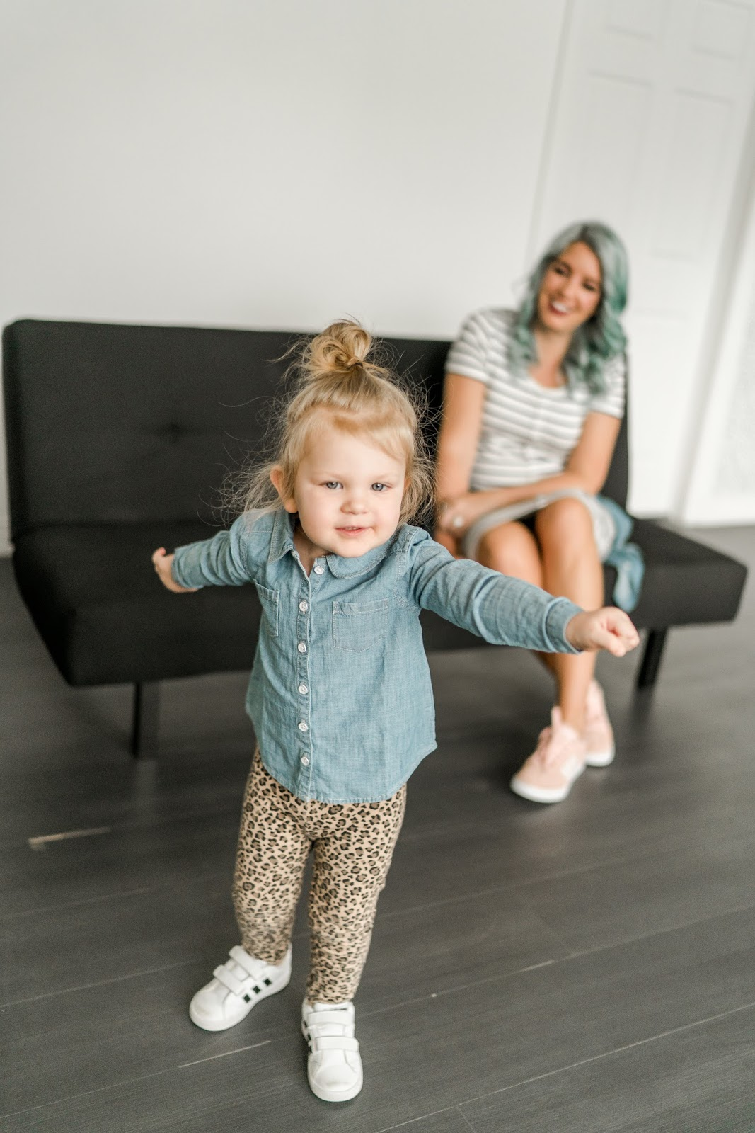 Denim Shirt, Terrible Twos, Utah Blogger