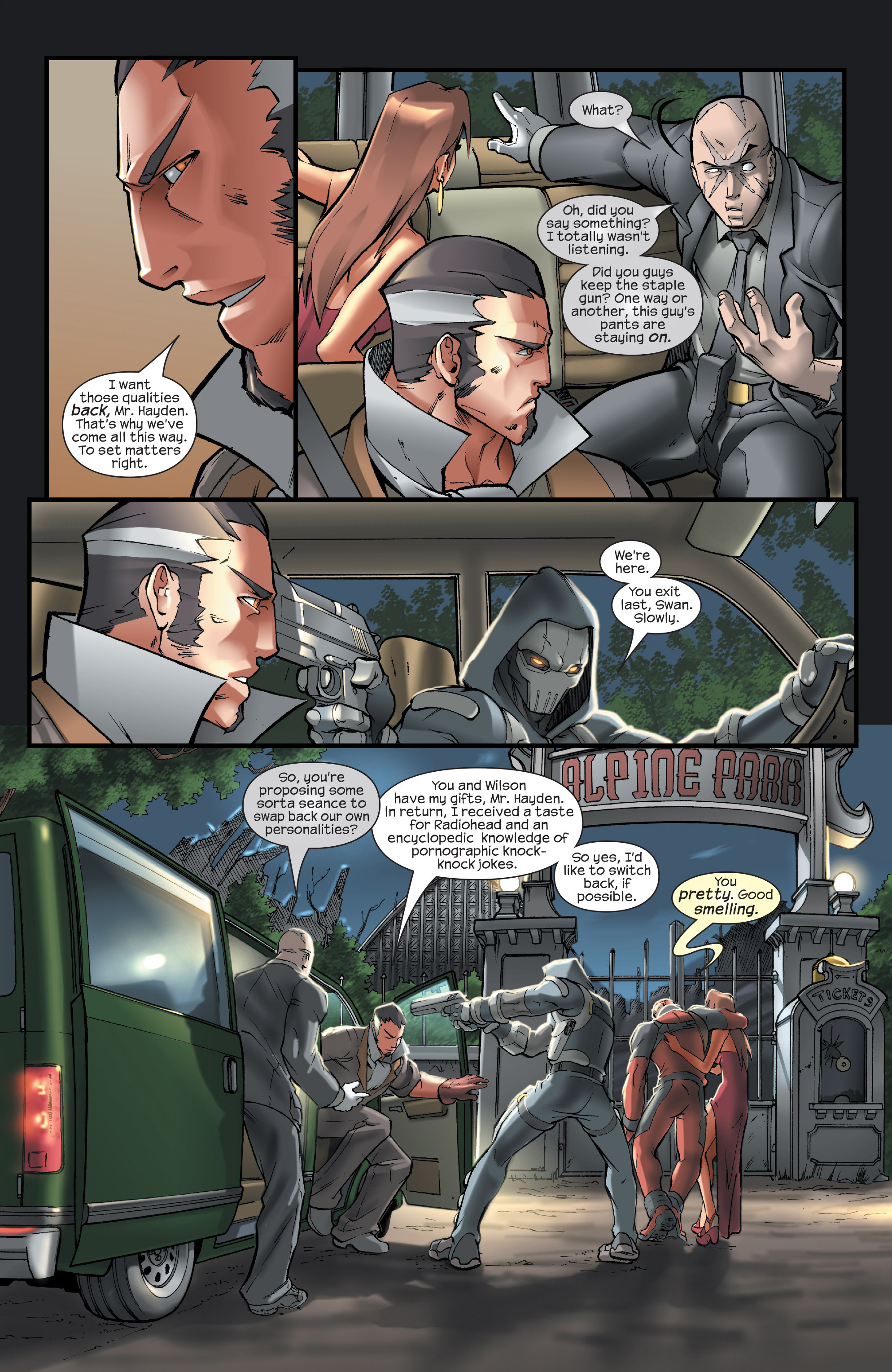 Read online Agent X comic -  Issue #14 - 14
