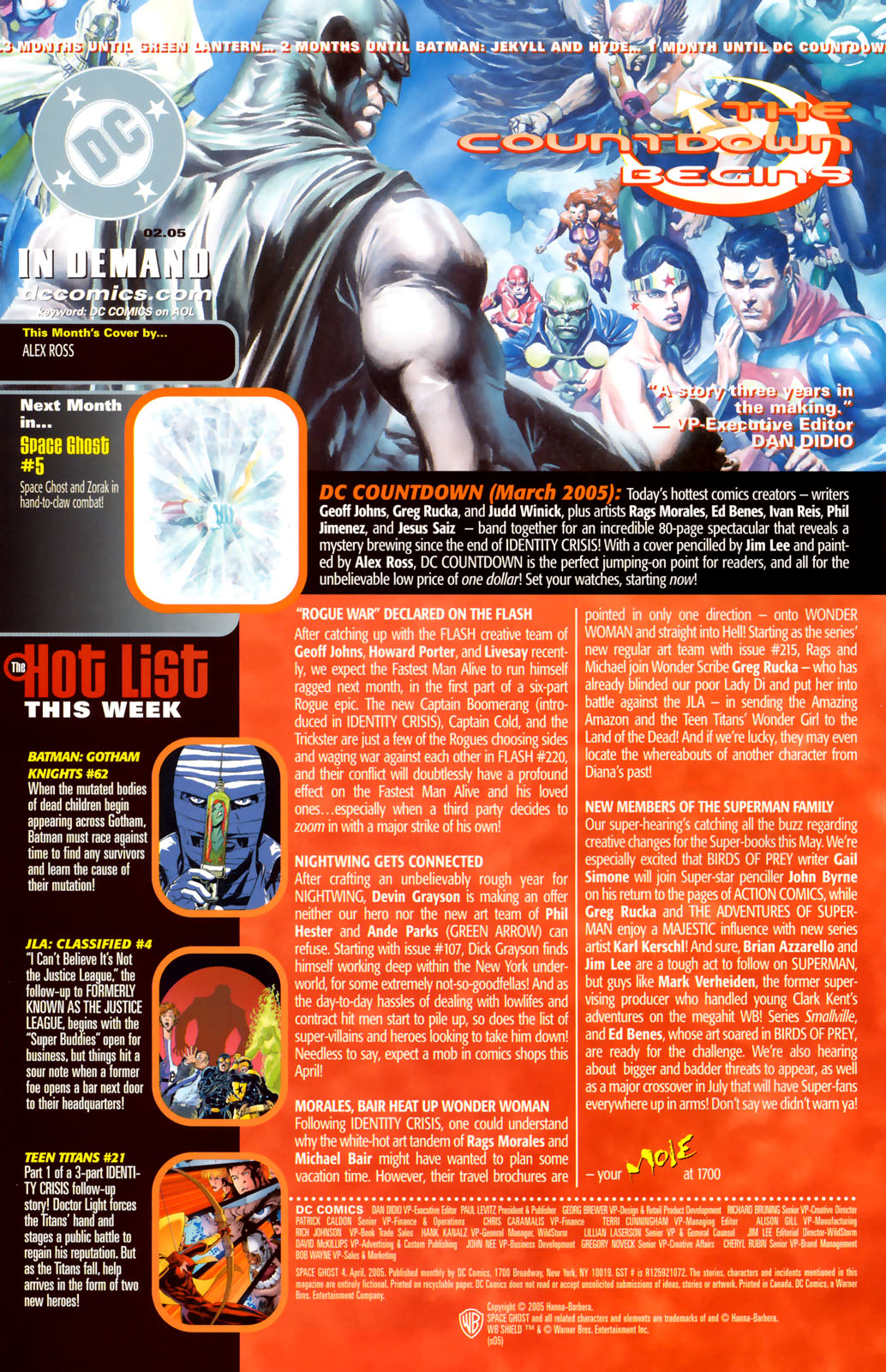 Read online Space Ghost (2005) comic -  Issue #4 - 23