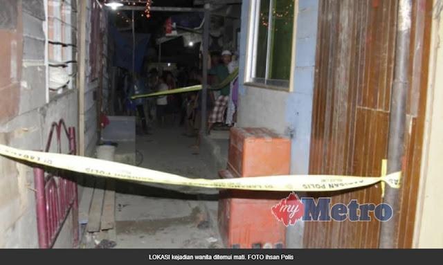 Mayat dalam kumbahan, tukul di kepala - Kampung Kiansam Lama, Wilayah Persekutuan Labuan