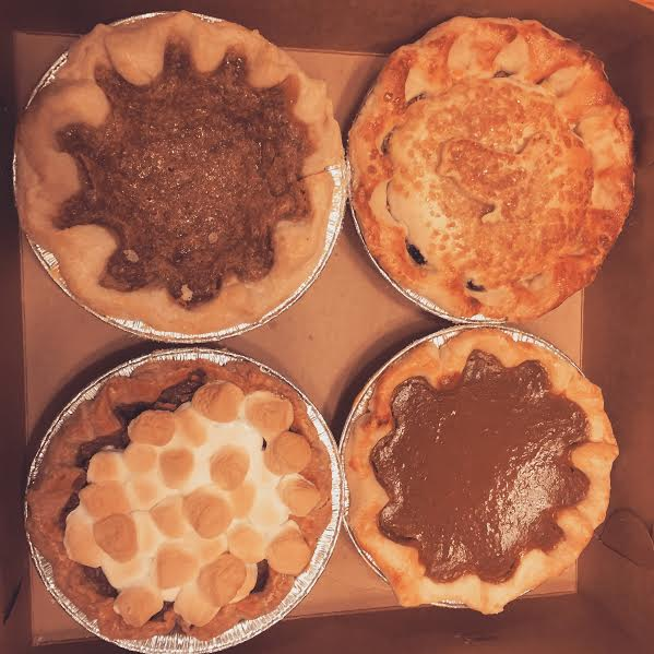 Mini pies from Elsie Mae's Canning in downtown Kenosha, WI.