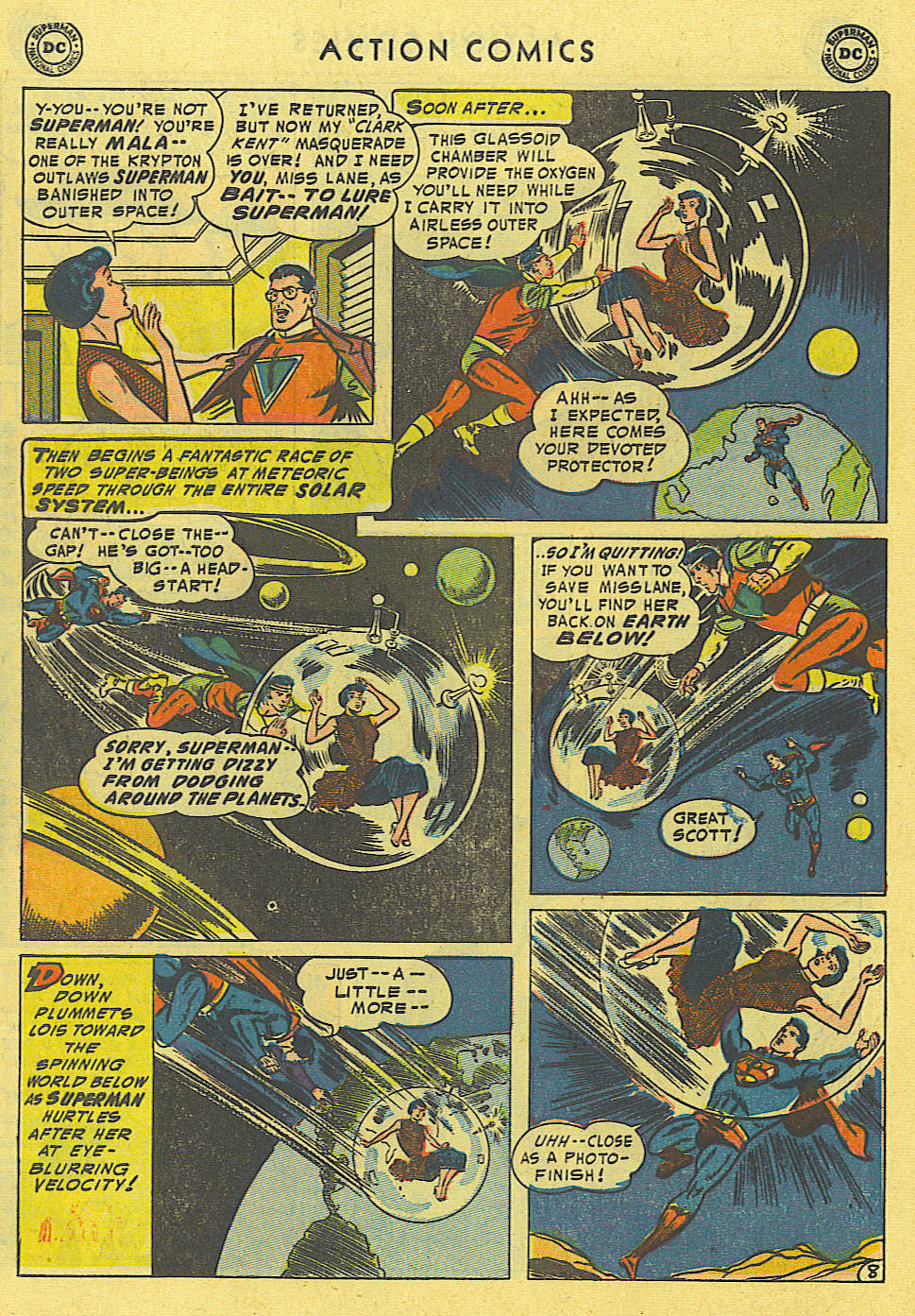 Read online Action Comics (1938) comic -  Issue #194 - 9