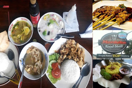 Merdeka Foodstall, Tempat Kuliner Top Di Bandung
