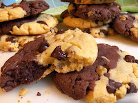 Banana Chocolate Pudding Cookies