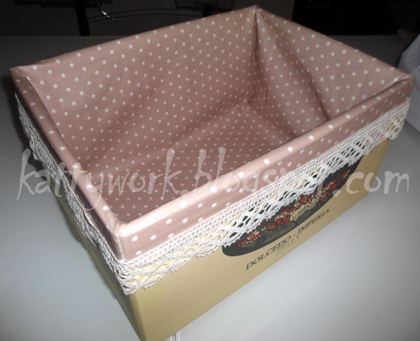 Work in progress makeover 3 scatole di cartone for Scatole per armadi in tessuto