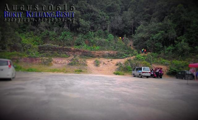 Bukit Keluang Besut, Antara Tiga Puncak
