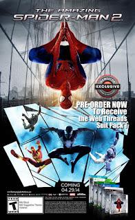 لعبة the amazing spider man 2