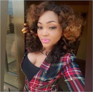 Mercy aigbe drops husband's name