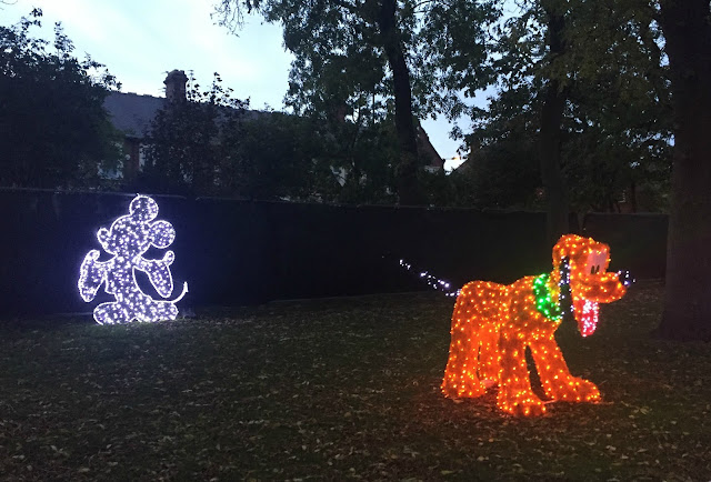 Disney Pluto light at Sunderland Illumination