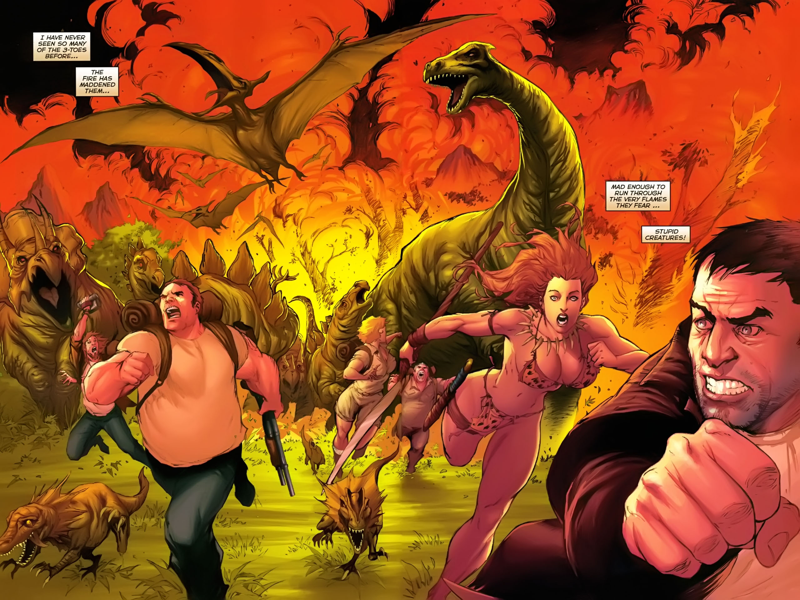 Read online Jungle Girl comic -  Issue #2 - 14