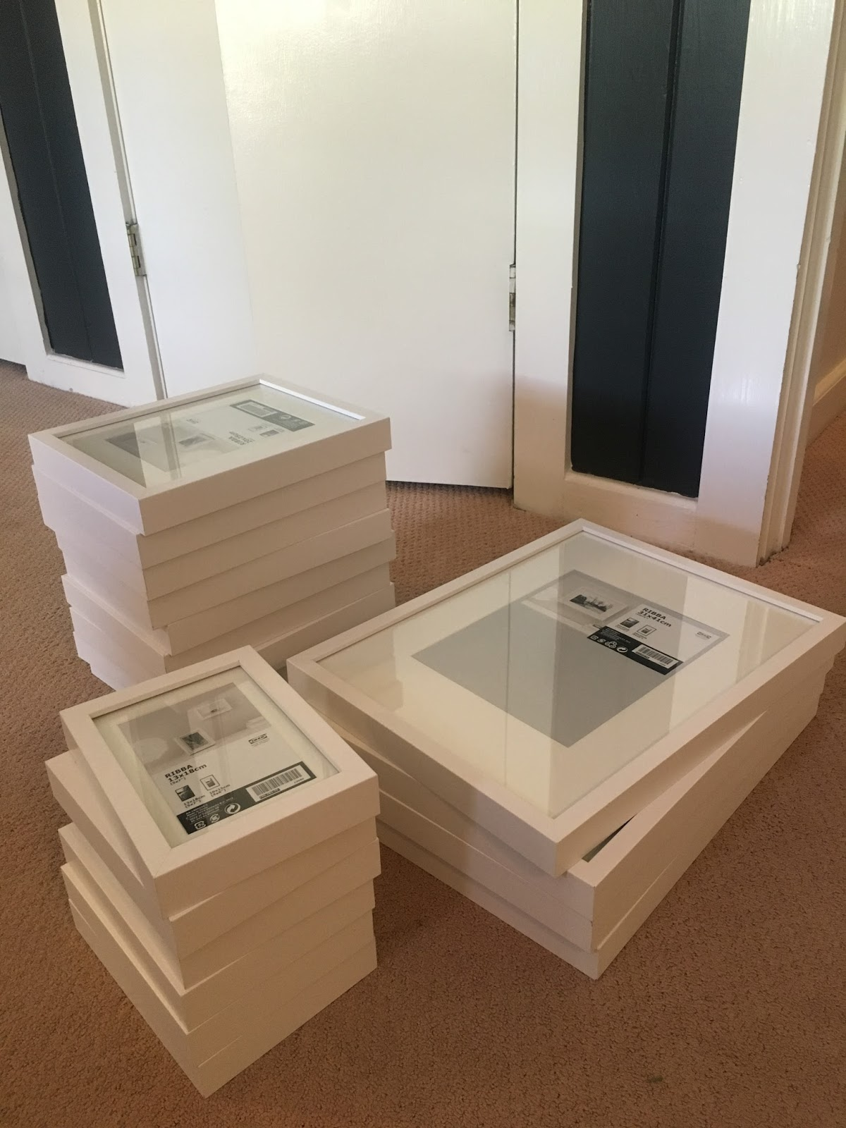 Hanging Ikea Picture Frames. Fabulous After Taking A Big Hit To The ...