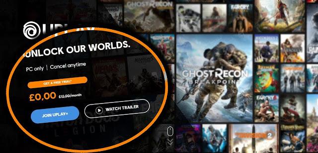Ubisoft بريميوم  . Ubisoft UPlay plus