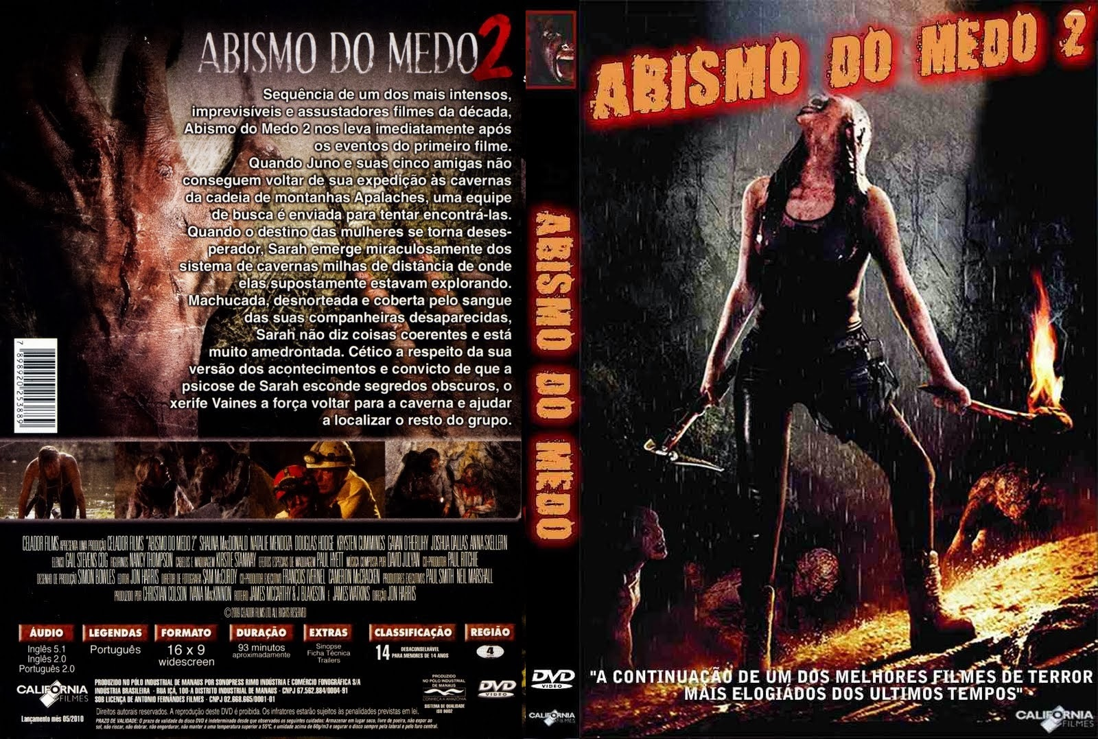 Abismo do Medo 2 DVD Capa