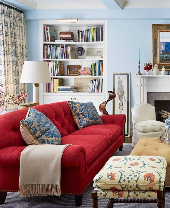 aleja kwiatowa blog wn trzarski dekoracje do domu jakie poduszki do czerwonej kanapy. Black Bedroom Furniture Sets. Home Design Ideas