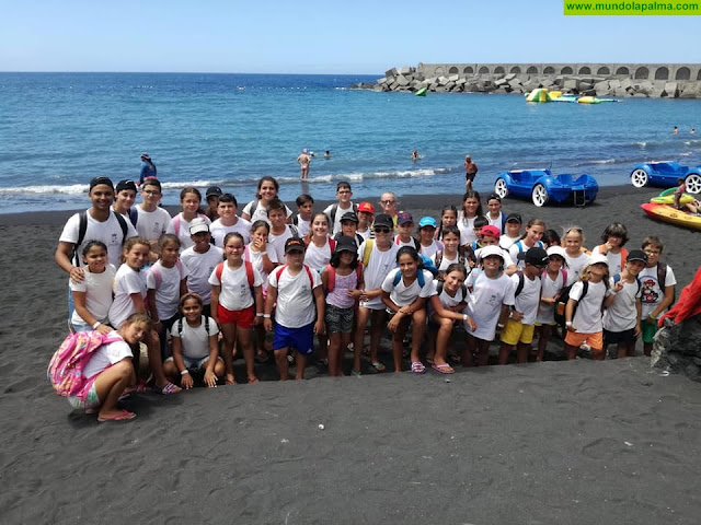 Programa Bandera Azul 2019 en Tazacorte