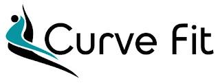 Logo Curve Fit Moda Fitness Feminina