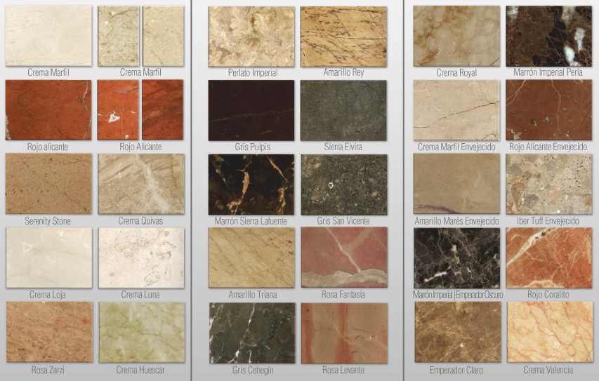 Marmol marcelo - Tipos de marmoles ...