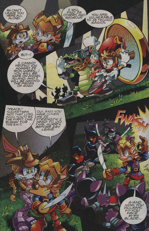 Read online Sonic The Hedgehog comic -  Issue #208 - 16