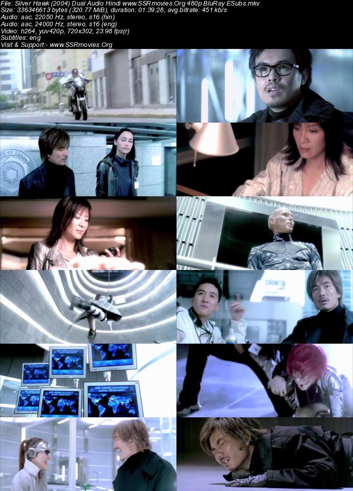 Silver Hawk (2004) Dual Audio Hindi 720p BluRay