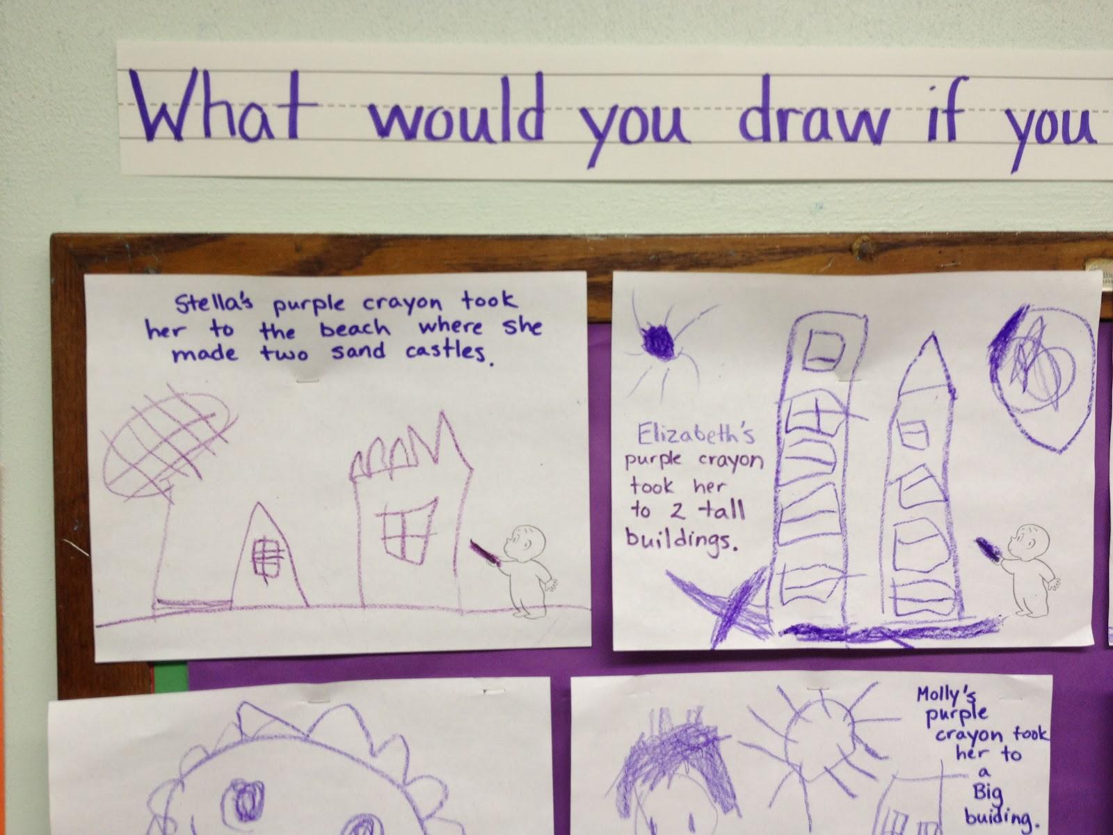 Mrs Goff S Pre K Tales Harold S Purple Crayon
