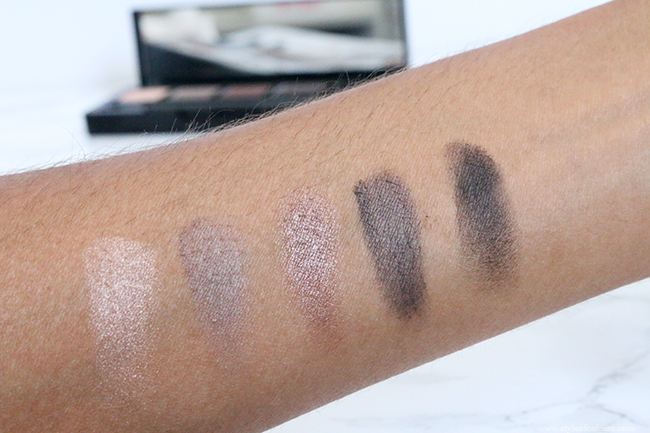 HD Brows Eyeshadow Palette Swatches