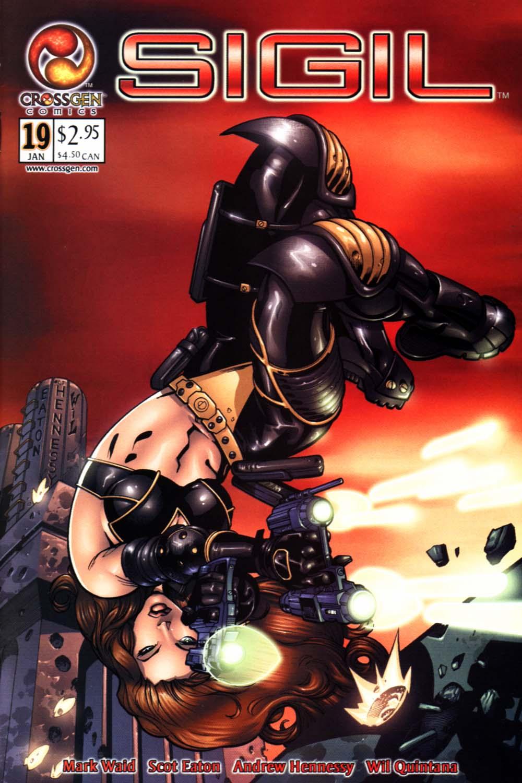 Read online Sigil (2000) comic -  Issue #19 - 1