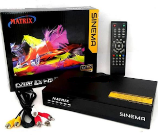 Spesifikasi Dan Keunggulan Receiver Matrix Sinema Hd