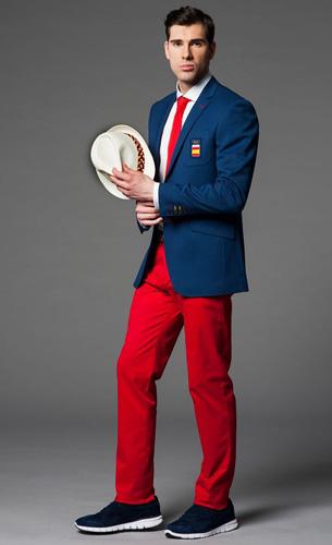traje hombre desfile Comité Olímpico Español Juegos Olímpico Rio Janeiro 2016 Joma